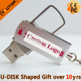 Custom Logo Gift Swivel/Rotating USB Stick (YT-1232)