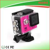 Factory Price Mini WiFi Sport Camera 4k Pink