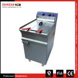 Free Standing 48L Large Capacity Industrial Electric Fryer
