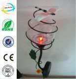 Circular Metal Solar Power Craft for Garden Decoration