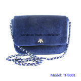 Shimmer Velvet Evening Bag Women Chain Clutches