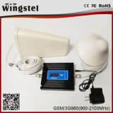 Dual Band GSM WCDMA 2g 3G 4G Gain Adjustable Mobile Signal Booster