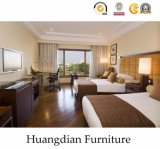 Commercial 4 Stars Wooden Bedroom Set for Hotel Furniture (HD002)