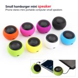 Mini portable Music Player Stereo Mini Speakers 3.5mm Jack Telescopic Plug-in Audio Hamburg Speakers