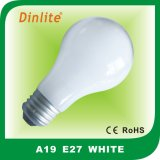 A60 110-240V soft-white energy saving incandescent bulb