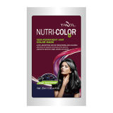 2016 Tazol Nutricolor Semi-Permanent Hair Color Shampoo with Dark Brown