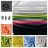 Dyed Sateen Cotton Viscose Fabric for Woman Dress Leisure Wear