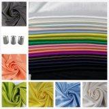 Dyed Sateen Cotton Viscose Fabric for Woman Dress Shirt Leisure Wear