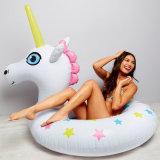 TPU or PVC Inflatable Unicorn Girl Swim Ring