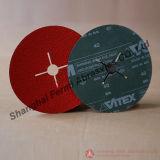 115mm Zirconia & Aluminum Oxide Fiber Disc for Stainless Steel