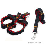 Specialized Jeans Dog Lead Nylon Pet Harness with Leash