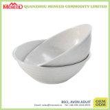 White Color Dishwasher Safe Cafeteria Melamine Buffet Bowl