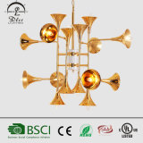 2017 Popular Gold Huge Modern Pendant Lamp Project Chandelier