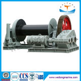 12V/220V Marine Gas Powered Portable Horizontal Electric Hydraulic Capstan Winch for Boat Trailer