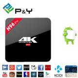 2017 High Performance H96 PRO 4k Player Android 6.0 Smart TV Box Amlogic S912 64bit Octa-Core 2GB 16GB Bt4.0 Ott TV Box