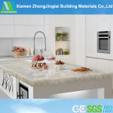 Grey Color Marble Pattern Quartz Stone for Countertop