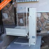 Outdoor Inlined Stair Electric Vertical Wheelchair Lift Platform