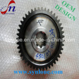 CNC Machining Process Steel Worm Gear