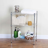 NSF DIY Stainless Steel Bathroom Corner Storage Wire Rack