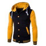 Custom Men Cotton Fleece Fashion Hoodies Sports Pullover Top Clothing (AL005)