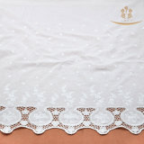 H10014 100% Cotton Lace Dyed Fabric for Shirts/Dress