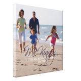 Personalized Canvas Print Photo on Canvas Photo Gift, Family, Pets Canvas Print