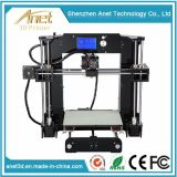 High Resolution Large Format 3D Printer Digital Printer Machine 220X220X240mm with Extruder Nozzle