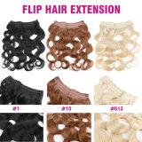 Brazilian Body Wave Flip Human Hair Extension