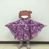 Lovely Popular Polyester Printed Rainwear for Kids