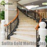 M864 Sofita Gold Marble Step/Stairs/Treads
