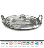 Stainless Steel Griddle Pan Grill Pan Cookware