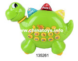 Dinosaur Educational Learning Machine Toy with Light&Voice&Music (135261)