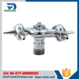 Stainless Steel Sanitary SS304 BSPP Male Thread Rotary Spray Ball