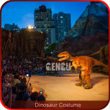 Realistic Lifelike Raptor Suit Walking Dinosaur Costume