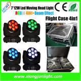 7PCS 10W LED Mini Moving Head Manual Mini Projector