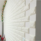 Fashionable Odor-Free Wall Covering Room Decoration Embossed PE Brick Foam