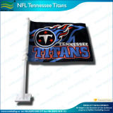 120GSM Knitted Polyester NFL Tennessee Titans Car Flag (J-NF08F01001)
