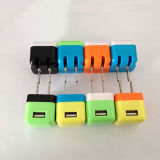 Popular 1000mA Home Charger USB Charger Free Cosotmer Logo Wall Charger for Andriod Phones
