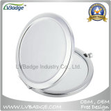 Silver Double 70mm Compact Mirror