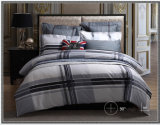 Hot Sale 100% Cotton Fashion Print Grid Bedding Sets