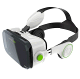 3D Vr Box, Video Glasses Support iPhone Samsung LG and Other Smart Phones with Headphone for 3D Movies and Games