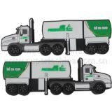 Silicone Tanker Shaped USB Flash Drive (S1A-7201C)