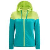 New Style Fashionable Wholesale Long Hoody Lady Jacket