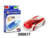 DIY Electrical Toy Cars Battery Operated Plastic Car (090617)