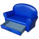 Children Drawer Sofa Storage Chaise Lounge Chair Kids Furniture (SXBB-15)