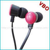 New Fashionable Flat Cable Earphone Headset with Perfect Sound