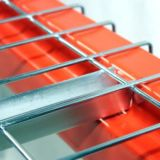 U Channel Logistic Storage Steel Mesh Decking for Pallet Rack