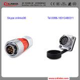Industrial Plug Socket 500V 12A 7pin Female XLR Connector