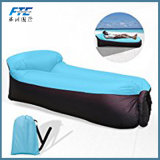 Two Opening Mouth Outdoor Fast Inflatable Air Sofa Lazy Bag