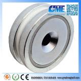 High Quality N40 D35.814X7.62mm NdFeB Pot04 Magnet